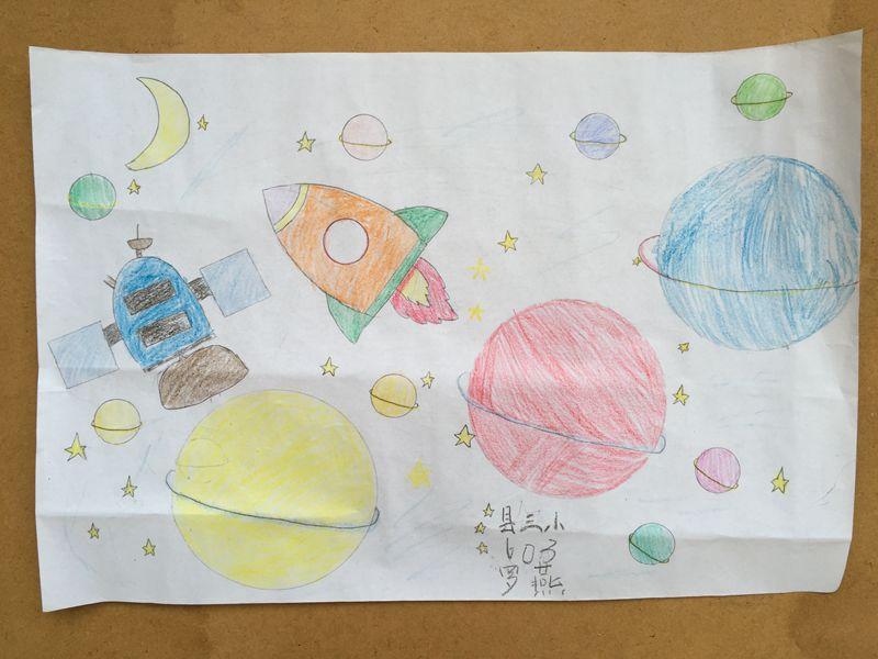 平远三小举行学生手工制作和科幻绘画比赛